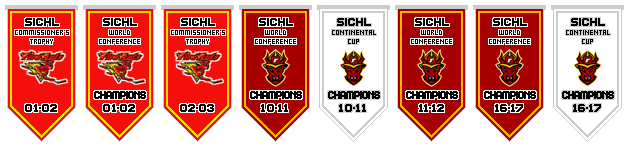 Philadelphia Fire Ants Franchise Championship Banners